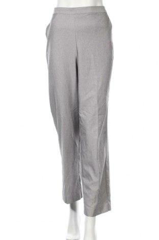 Дамски панталон Alfred Dunner, Размер M, Цвят Сив, Полиестер, Цена 7,09лв.