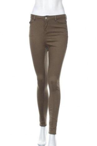 Дамски панталон Ally, Размер S, Цвят Зелен, 96% памук, 4% еластан, Цена 6,83лв.