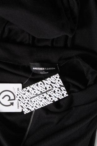 Дамски панталон Another Reason, Размер L, Цвят Черен, Полиестер, Цена 9,37лв.