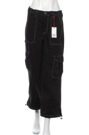 Дамски панталон BDG, Размер M, Цвят Черен, Памук, Цена 18,64лв.