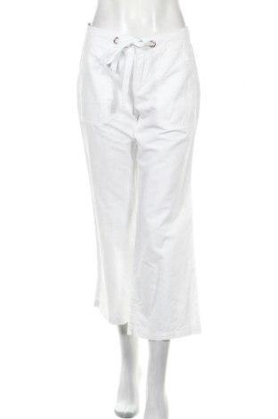 Γυναικείο παντελόνι Banana Republic, Μέγεθος S, Χρώμα Λευκό, 52% λινό, 48% βαμβάκι, Τιμή 17,81€
