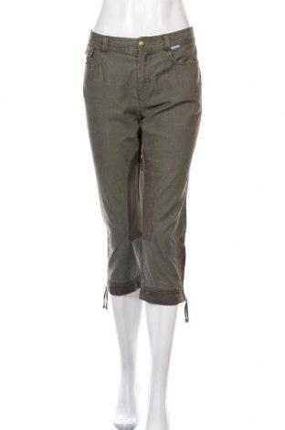 Дамски панталон Betty Barclay, Размер M, Цвят Зелен, Памук, Цена 11,42лв.