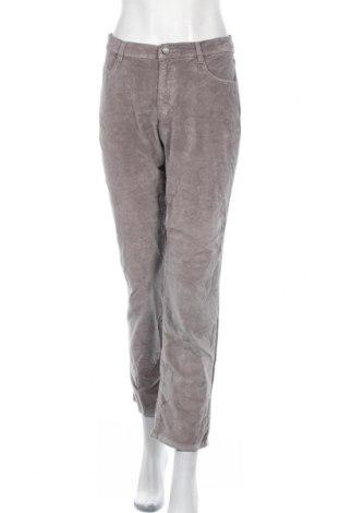 Дамски панталон Brax, Размер L, Цвят Сив, 74% памук, 25% вискоза, 1% еластан, Цена 9,98лв.