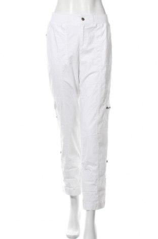 Дамски панталон Capture, Размер M, Цвят Бял, 98% памук, 2% еластан, Цена 3,00лв.