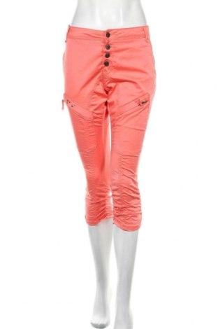 Дамски панталон Culture, Размер M, Цвят Розов, 98% памук, 2% еластан, Цена 11,80лв.