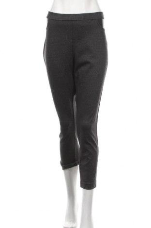 Dámské kalhoty  DKNY Jeans, Velikost L, Barva Šedá, 55% polyester, 41% viskóza, 4% elastan, Cena  939,00Kč