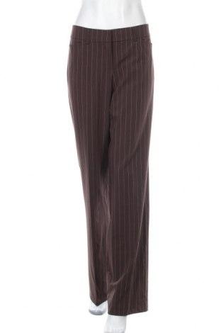 Дамски панталон Esprit, Размер M, Цвят Кафяв, 70% полиестер, 22% вискоза, 8% еластан, Цена 22,31лв.