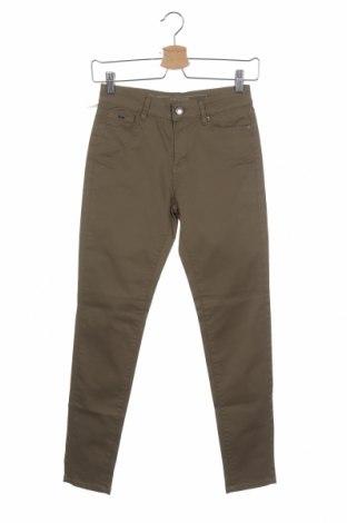 Дамски панталон Gas, Размер XS, Цвят Зелен, 98% памук, 2% еластан, Цена 47,40лв.