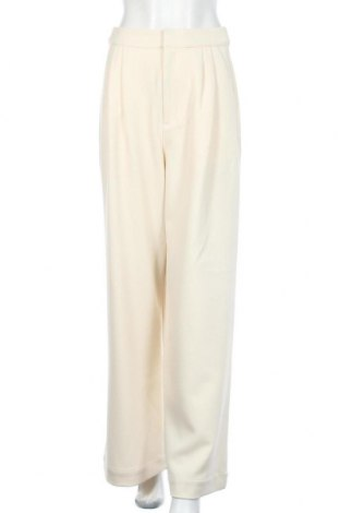 Γυναικείο παντελόνι Gestuz, Μέγεθος S, Χρώμα Εκρού, Τιμή 66,98€
