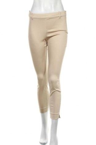 Дамски панталон H&M, Размер S, Цвят Бежов, Цена 21,00лв.