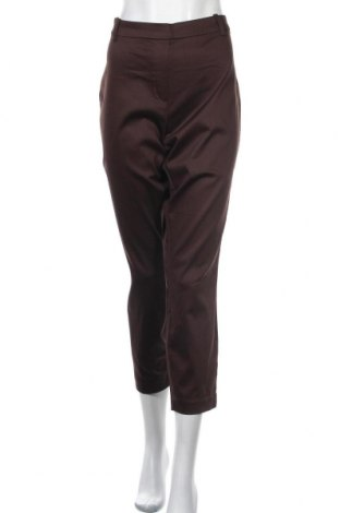 Dámské kalhoty  H&M, Velikost XL, Barva Hnědá, 64% bavlna, 32% polyester, 4% elastan, Cena  788,00Kč