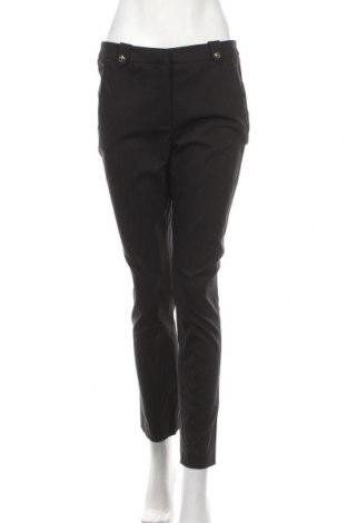 Dámské kalhoty  H&M, Velikost M, Barva Černá, 61% bavlna, 34% polyester, 5% elastan, Cena  393,00Kč