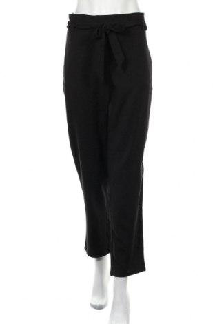 Γυναικείο παντελόνι H&M Divided, Μέγεθος XL, Χρώμα Μαύρο, 66% πολυεστέρας, 32% βισκόζη, 2% ελαστάνη, Τιμή 14,36€