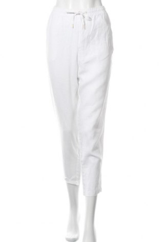 Дамски панталон H&M L.O.G.G., Размер M, Цвят Бял, Цена 8,16лв.