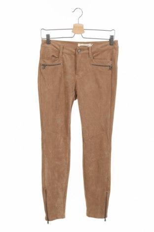 Дамски панталон H&M L.O.G.G., Размер M, Цвят Бежов, 89% полиестер, 11% еластан, Цена 6,83лв.