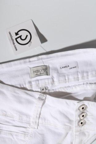 Дамски панталон Haily`s, Размер M, Цвят Бял, 98% памук, 2% еластан, Цена 20,48лв.