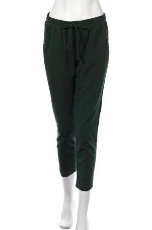 Dámské kalhoty  Hema, Velikost M, Barva Zelená, 97% polyester, 3% elastan, Cena  446,00Kč
