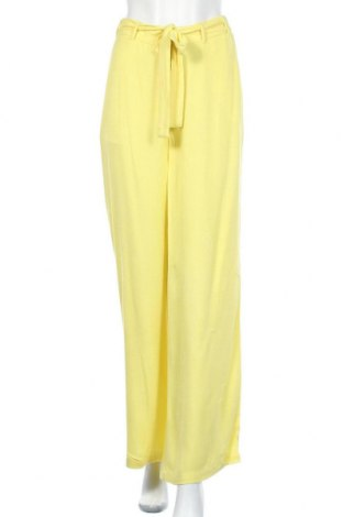 Γυναικείο παντελόνι Kaffe, Μέγεθος M, Χρώμα Κίτρινο, Βισκόζη, Τιμή 41,02€