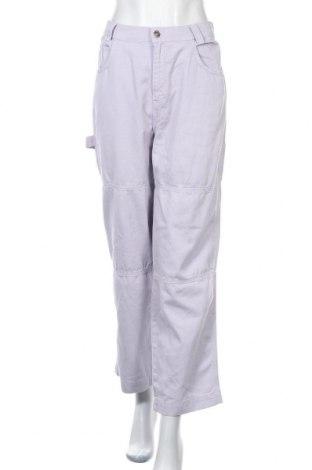 Дамски панталон Kickers, Размер XL, Цвят Лилав, Памук, Цена 32,70лв.
