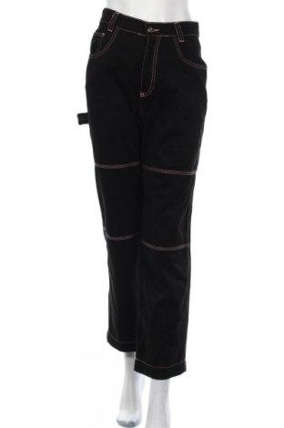 Дамски панталон Kickers, Размер S, Цвят Черен, Памук, Цена 17,79лв.