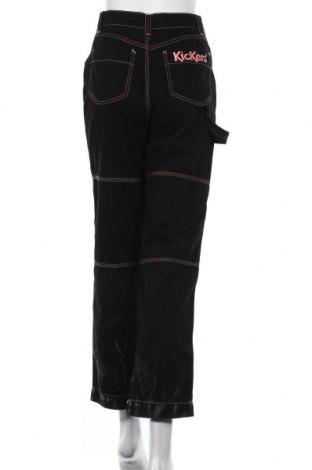 Дамски панталон Kickers, Размер S, Цвят Черен, Памук, Цена 14,80лв.