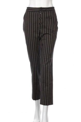 Дамски панталон Massimo Dutti, Размер S, Цвят Черен, 55% памук, 45% вискоза, Цена 19,08лв.