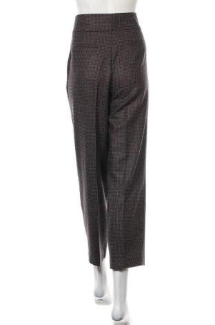 Дамски панталон Massimo Dutti, Размер M, Цвят Кафяв, 72% вълна, 17% полиамид, 10% вискоза, 1% еластан, Цена 74,25лв.