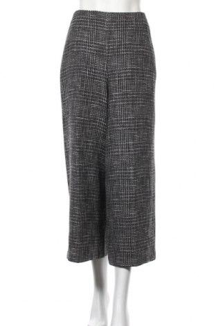 Дамски панталон Massimo Dutti, Размер L, Цвят Черен, 35% полиестер, 23% вълна, 22% памук, 14% акрил, 6% други тъкани, Цена 49,05лв.