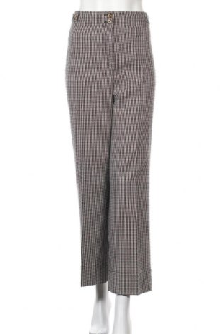 Дамски панталон Massimo Dutti, Размер L, Цвят Многоцветен, 54% памук, 27% вискоза, 11% полиестер, 7% вълна, Цена 22,30лв.