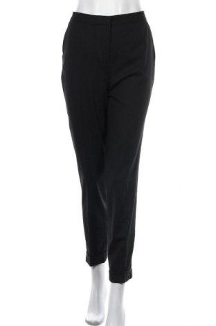 Дамски панталон Massimo Dutti, Размер L, Цвят Черен, 98% вълна, 2% еластан, Цена 46,87лв.