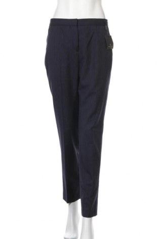 Дамски панталон Massimo Dutti, Размер M, Цвят Син, Вълна, Цена 46,87лв.