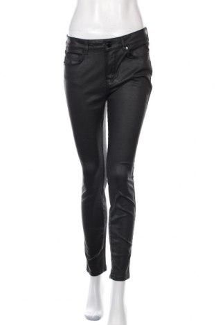 Дамски панталон Massimo Dutti, Размер M, Цвят Черен, 98% памук, 2% еластан, Цена 27,60лв.