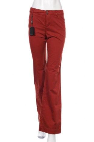 Дамски панталон Massimo Dutti, Размер S, Цвят Червен, 97% памук, 3% еластан, Цена 53,40лв.