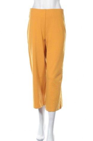 Дамски панталон Miss Valley, Размер S, Цвят Жълт, 95% полиестер, 5% еластан, Цена 7,68лв.