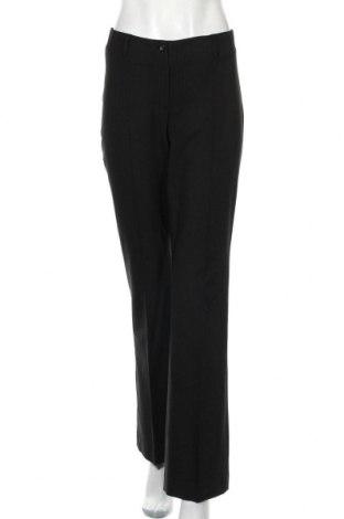 Дамски панталон More & More, Размер M, Цвят Черен, 63% полиестер, 32% вискоза, 5% еластан, Цена 6,83лв.