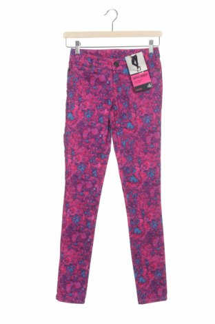 Дамски панталон Now, Размер XS, Цвят Многоцветен, Памук, полиестер, еластан, Цена 5,40лв.