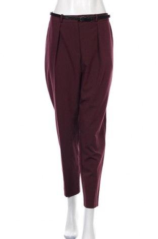 Дамски панталон Oasis, Размер L, Цвят Лилав, 76% полиестер, 17% вискоза, 7% еластан, Цена 39,44лв.
