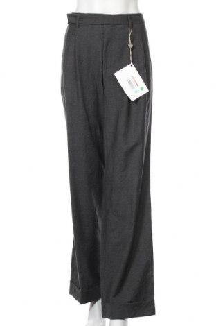 Дамски панталон Philosophy Di Lorenzo Serafini, Размер M, Цвят Сив, Вълна, Цена 249,80лв.
