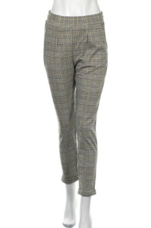 Дамски панталон Pieces, Размер S, Цвят Многоцветен, 98% полиестер, 2% еластан, Цена 6,04лв.