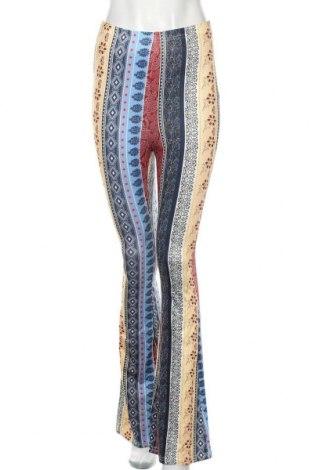 Дамски панталон SHEIN, Размер S, Цвят Многоцветен, 92% полиестер, 8% еластан, Цена 10,29лв.