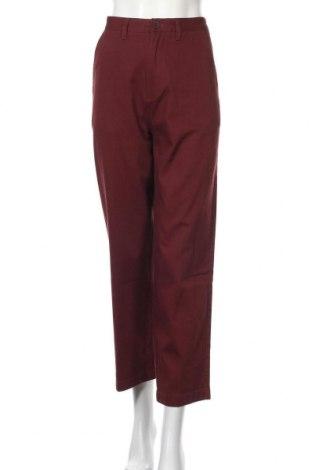 Дамски панталон Santa Cruz, Размер M, Цвят Червен, Памук, Цена 35,60лв.