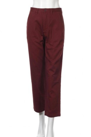 Дамски панталон Santa Cruz, Размер S, Цвят Червен, Памук, Цена 35,60лв.