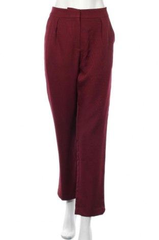 Дамски панталон Showpo, Размер L, Цвят Червен, Полиестер, Цена 24,26лв.