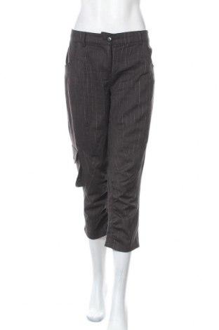 Дамски панталон S'nob, Размер XL, Цвят Кафяв, 45% вълна, 53% полиестер, 2% еластан, Цена 7,09лв.
