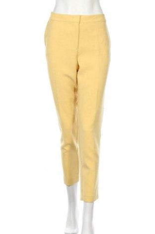 Dámské kalhoty  Soaked In Luxury, Velikost L, Barva Žlutá, 80% polyester, 18% viskóza, 2% elastan, Cena  500,00Kč