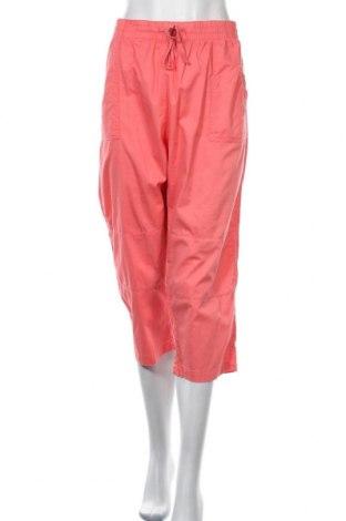 Γυναικείο παντελόνι Suzanne Grae, Μέγεθος XL, Χρώμα Ρόζ , Βαμβάκι, Τιμή 6,14€