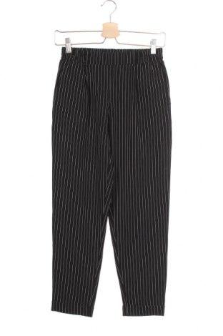 Дамски панталон Tally Weijl, Размер XS, Цвят Черен, 80% полиестер, 16% вискоза, 4% еластан, Цена 6,83лв.