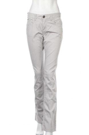 Γυναικείο παντελόνι Tom Tailor, Μέγεθος L, Χρώμα Γκρί, 98% βαμβάκι, 2% ελαστάνη, Τιμή 13,22€
