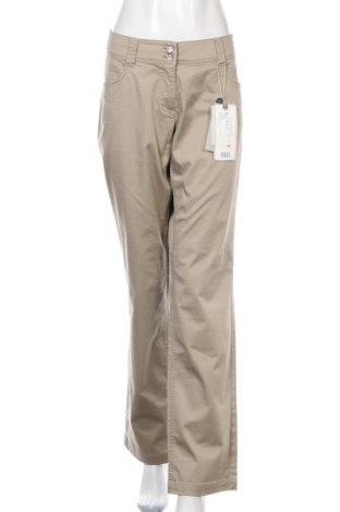 Γυναικείο παντελόνι Tom Tailor, Μέγεθος XL, Χρώμα  Μπέζ, 98% βαμβάκι, 2% ελαστάνη, Τιμή 34,21€