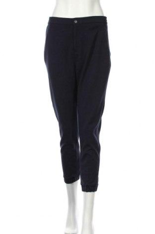 Dámské kalhoty  Uniqlo, Velikost L, Barva Modrá, 63% viskóza, 37% polyester, Cena  333,00Kč